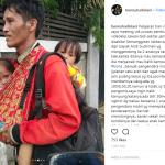 Seorang Bapak dan Kedua Anak Kembar Ditinggal Istri Terlantar di Jakarta
