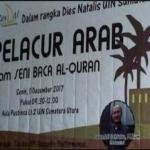 """Acara Dies Natalis UIN Sumatra Utara """"Jejak PELACUR ARAB Dalam Seni Baca Alquran"""""""