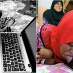 Mengoperasikan Laptop Menggunakan Lidah, Bisnis Online Wanita Cacat Fisik Ini Sukses