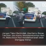 Oknum Polisi Buang Sampah Disembarangan, Lihat Apa Yang Dilakukan Pria Gondrong Ini